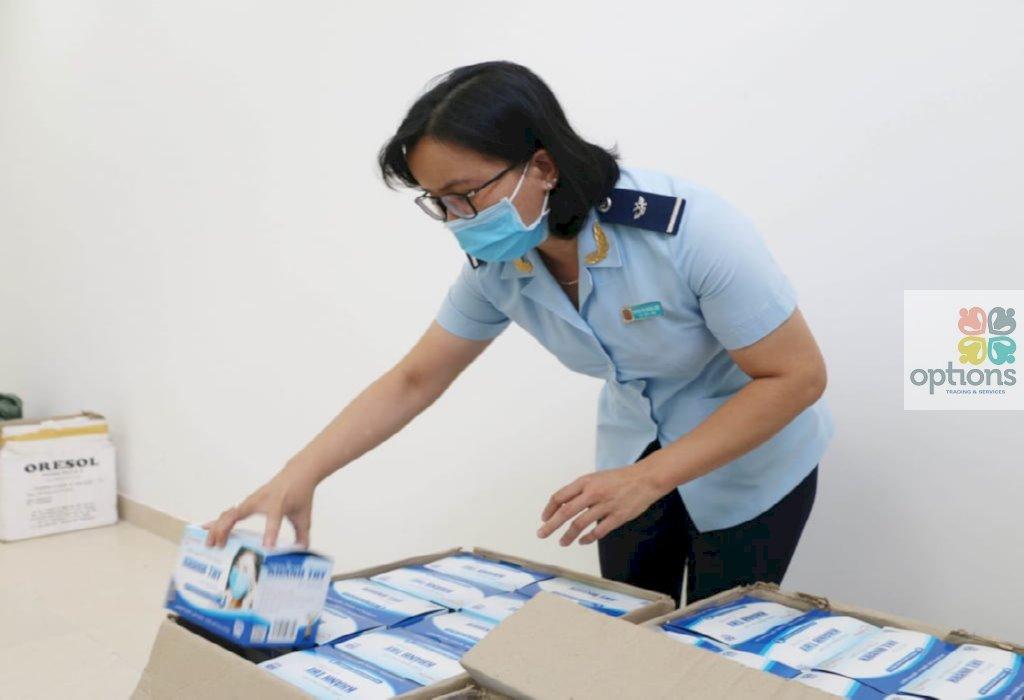Quy trình xuất khẩu khẩu trang y tế 1