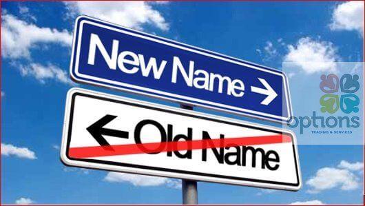Thủ tục thay đổi tên công ty TNHH