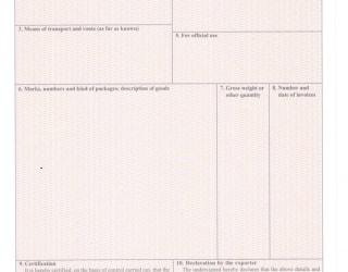 Làm giấy chứng nhận xuất xứ tại Mỹ Phước 3